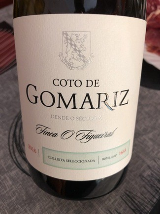 Coto de Gomariz colleita seleccionada 2016