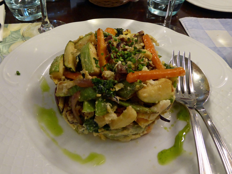 Restaurante en Arrecife de Lanzarote Revoltillo de verduras