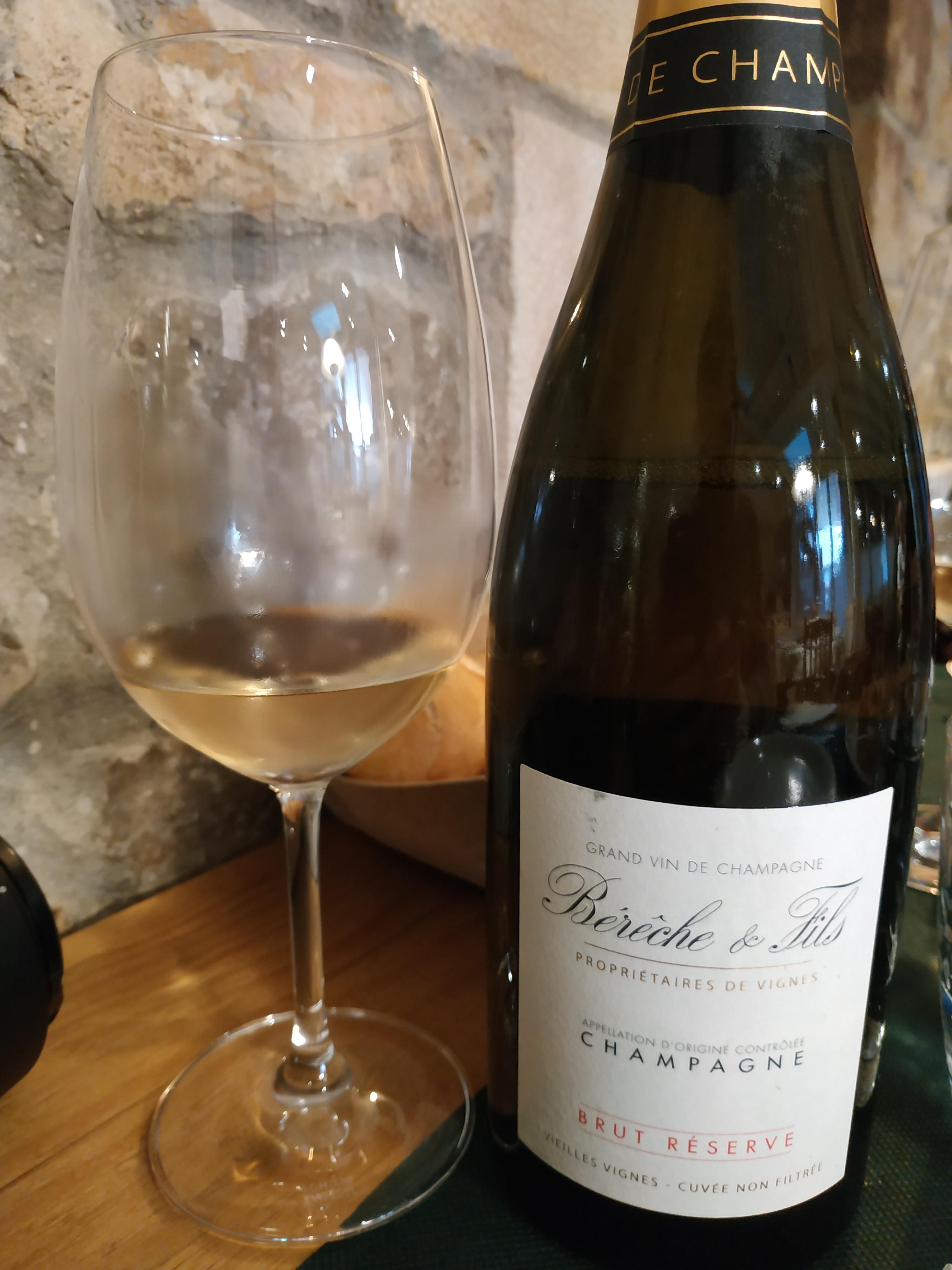 Restaurante Casa Cofiño Para comer: Bérêche & Fils Brut Réserve