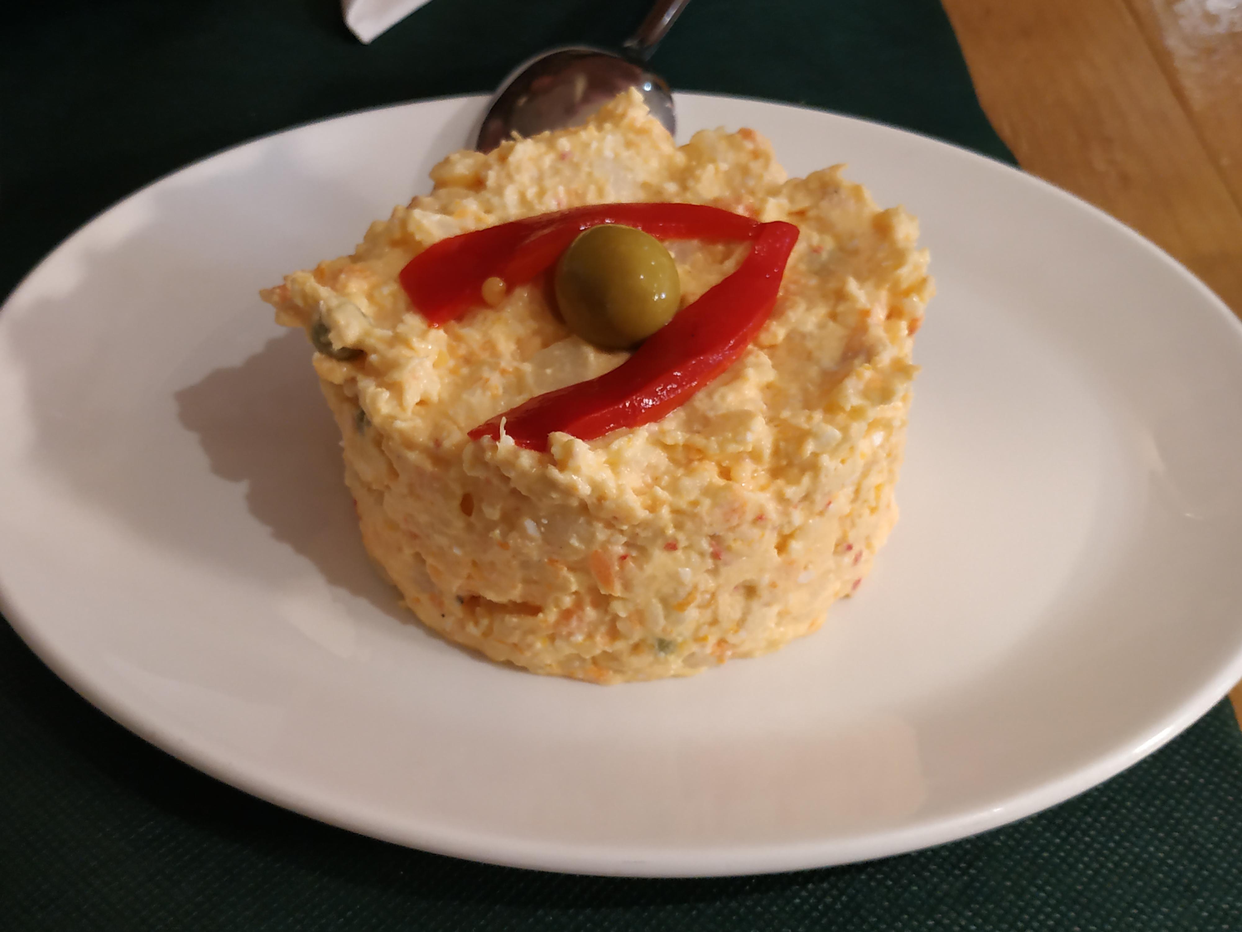 Restaurante en Caviedes Ensaladilla rusa