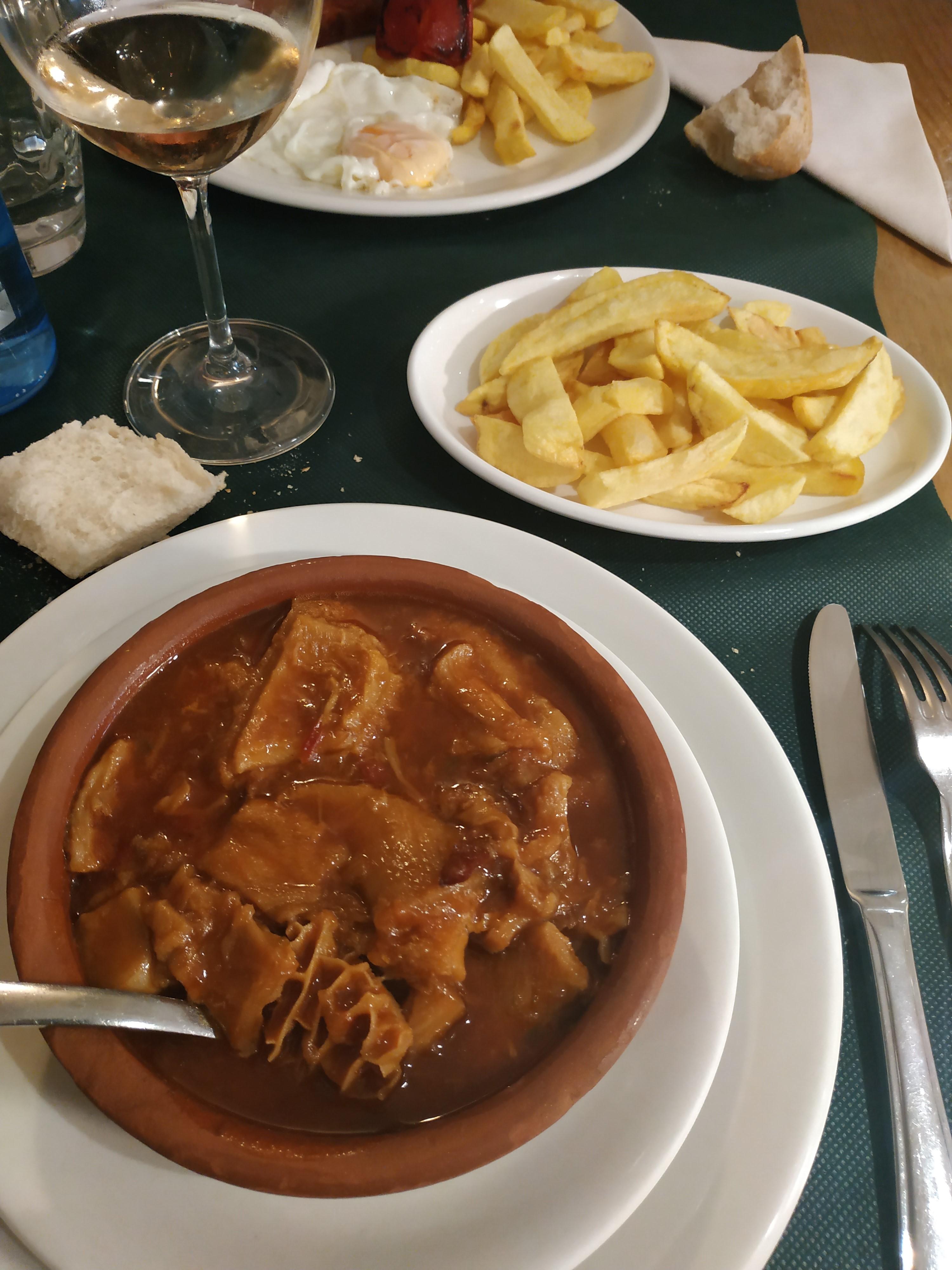 Restaurante Casa Cofiño Cazuelita de callos