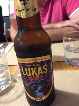 Thornbridge Lukas Helles Lager