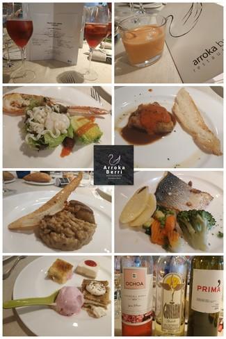 Restaurante Arroka Berri en Hondarribia/ Fuenterrabía