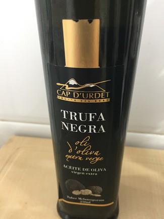 Cap D'Urdet aceite virgen extra con trufa negra