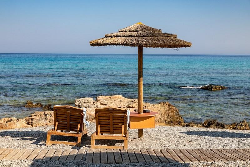 Playa veraniega