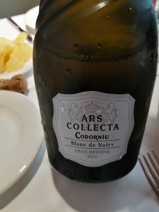 Ars collecta Codorniu Blanc de Noirs 2015