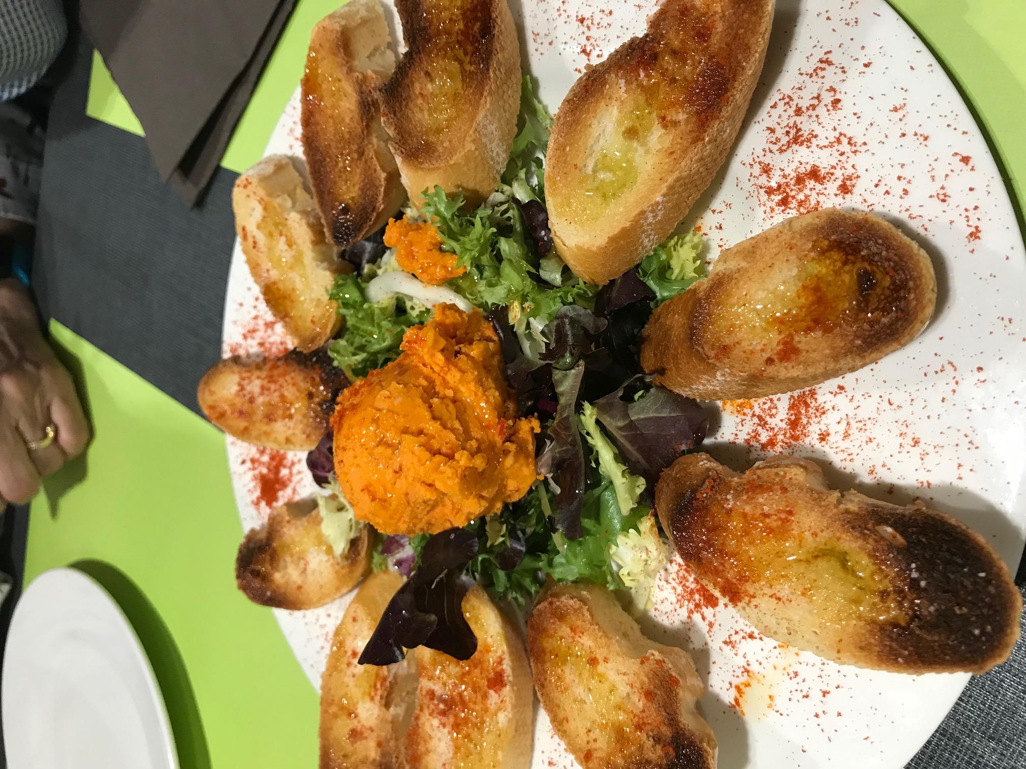 Restaurante La Mossegada Almogrote, sabroso de verdad.