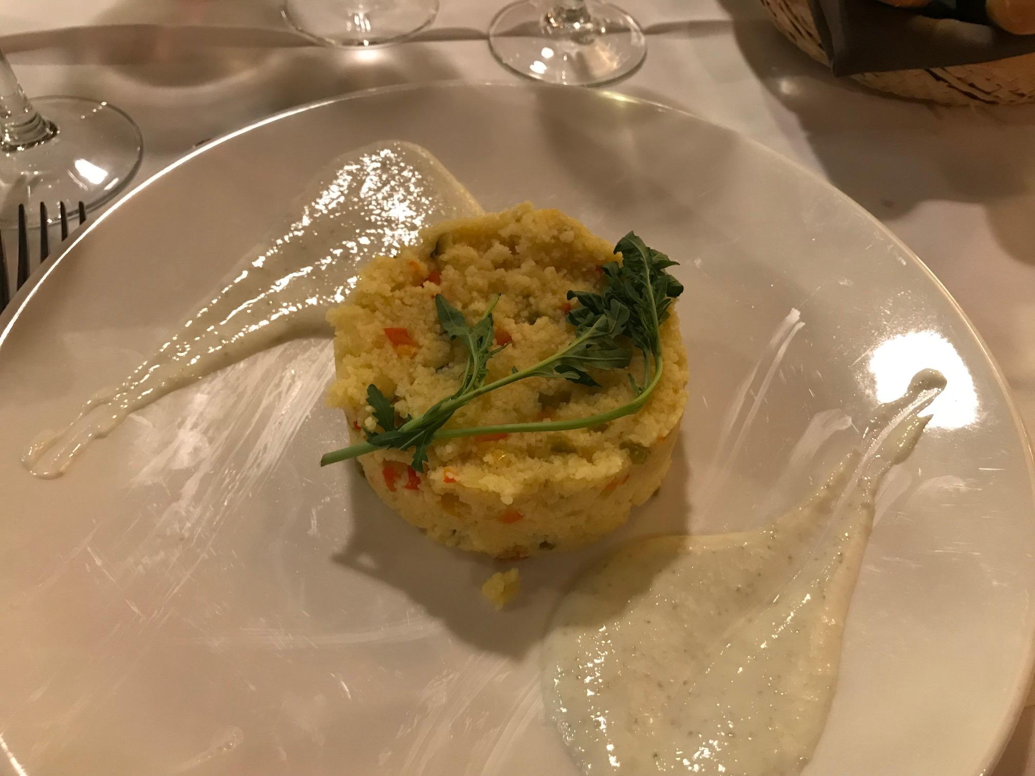 Restaurante en Canfranc Rico y ligero taboulé.