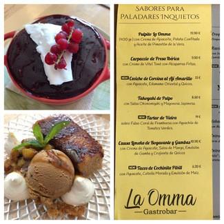 Restaurante La Omma Gastrobar en Pinedo