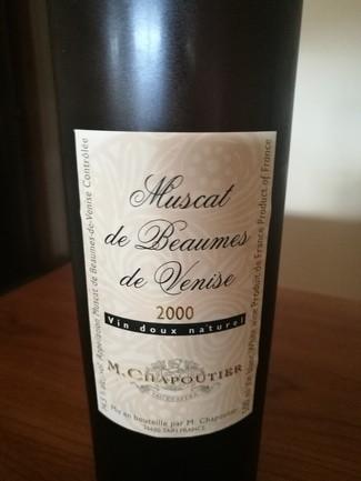 M. Chapotier Muscat de Beaumes de Venise 2000