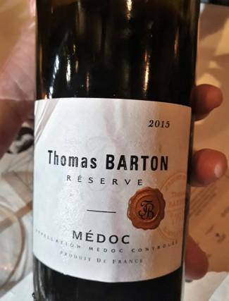 Thomas Barton Resérve 2015