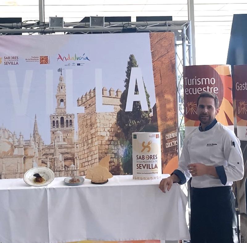 Alfonso González,chef delRestaurante Bicho Malo,