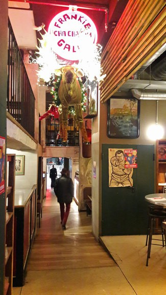 Restaurante Frankie Gallo Cha Cha Cha en Barcelona