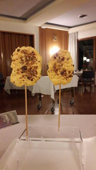 Aoeritivo : Palitos de queso y pistachos