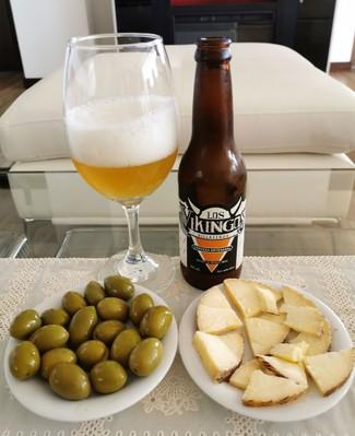 Con el queso y las olivitas