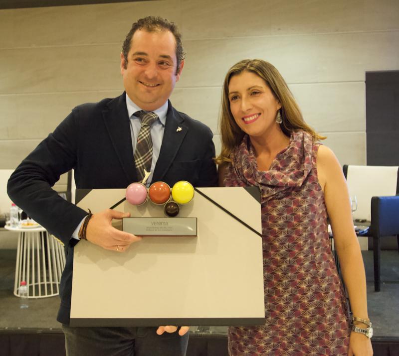 Ivan Sanz, Gerente de la bodega Dehesa de los Canónigos y Gemma Peyro
