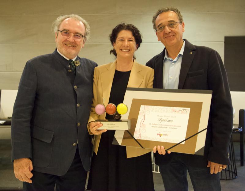Didier Belondrade y Marta Baquerizo, Propietario y Enóloga de Belondrade. José Contreras