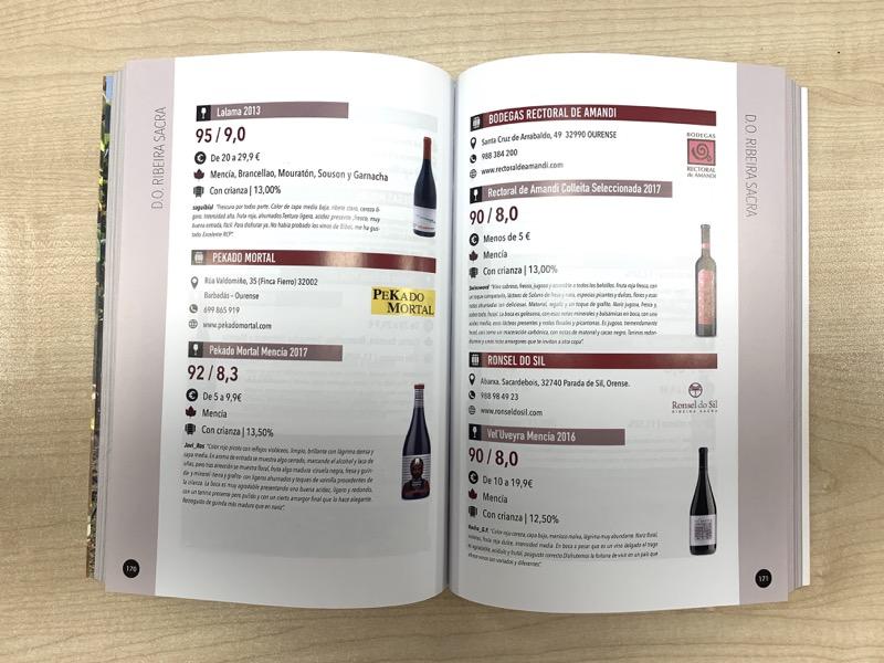 Interior Guía de Vinos ADN Verema 2020