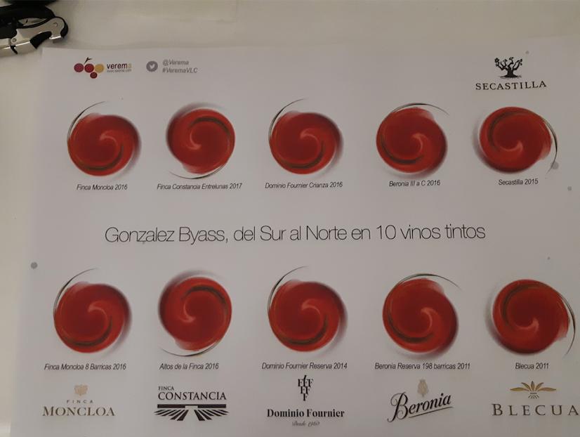 Mantel de cata González Byass