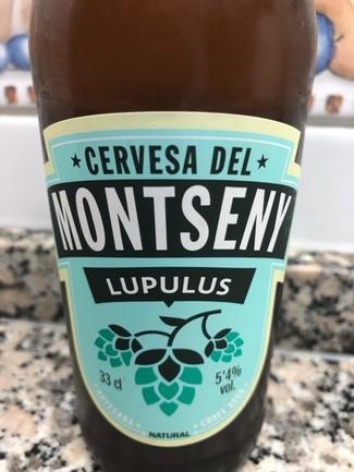 Cerveza del montseny lupulus