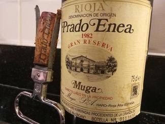 Prado Enea Muga Gran Reserva 1982, DO Ca Rioja