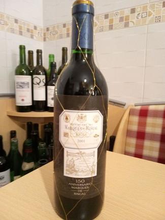 Marqués de Riscal Gran Reserva Especial 150 Aniversario 2001, DO Ca Rioja