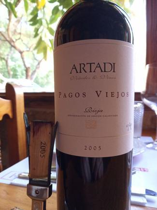 Artadi Pagos Viejos 2005, DO Ca Rioja