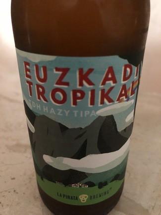 La Pirata Euzkadi Tropical tdh hazy tipa