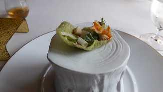 Los vegetales del cocido con garbanzo y berza