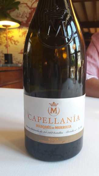 Capellania Marques de Murrieta 2014 DO Rioja