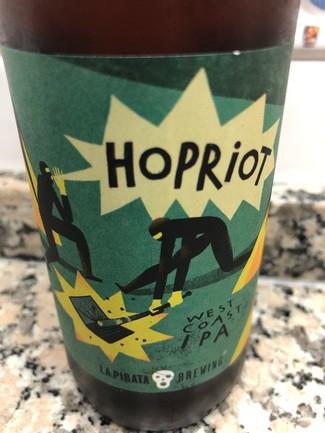 La Pirata Hopriot west east ipa