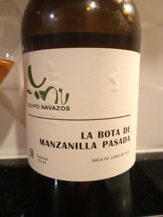 """La Bota de Manzanilla Pasada Nº 59 """"Capataz Rivas, DO Manzanilla - Sanlúcar de Barrameda"""