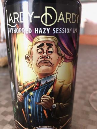 Lardy-Dardy hazy session ipa