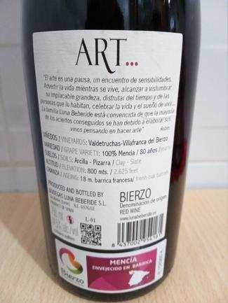 Art 2015, DO Bierzo