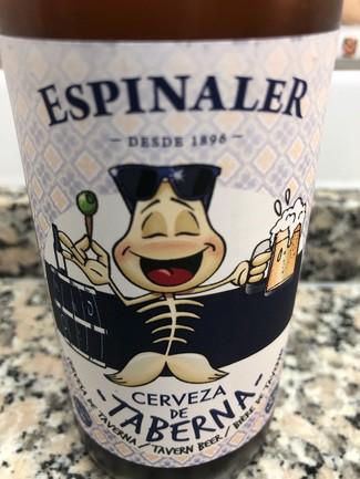 Espinaler cerveza de taberna lager