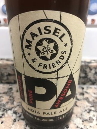 Maisel & Friends ipa