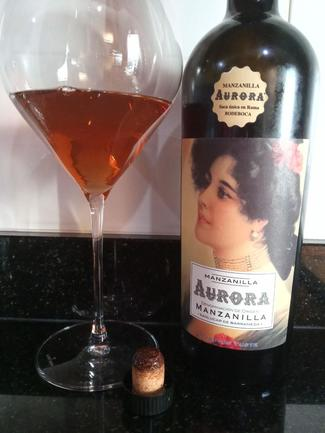 Aurora Manzanilla en Rama Saca Única BodeBoca Otoño 2018, DO Manzanilla Sanlúcar de Barrameda