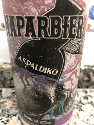 Naparbier Aspaldiko double ipa