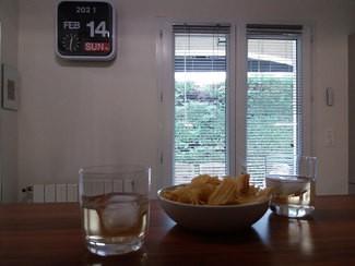 Aperitivo : vermuts blancos Petroni con unas patatas chips
