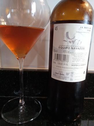 """La Bota de Fino 45 del Equipo Navazos """"Fino que va para Amontillado"""" Saca de Octubre 2013, DO Montilla-Moriles"""