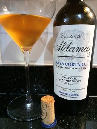Raya Cortada Conde de Aldama, Bodegas Yuste, Sanlúcar de Barrameda