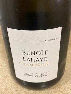 Champagne Benoit Lahaye Blanc de Noirs Bouzy