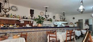 Vista del interior del restaurante