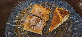 Mix Tarta de queso y tarta de manzana